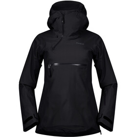 Bergans Stranda Insulated Hybrid Anorak Women, black/solid charcoal